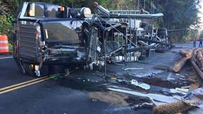 Log truck driver killed in single-vehicle crash on U.S. Highway 101