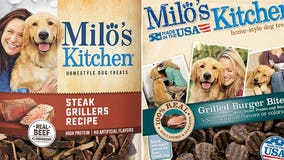 RECALL: Milo's Kitchen dog treats may contain elevated levels of thyroid hormone