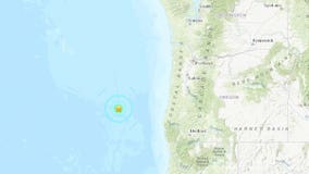 Magnitude 5.4 earthquake strikes off Oregon coast