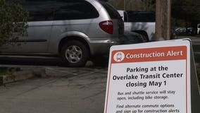 Another park-and-ride closure making way for light rail extension