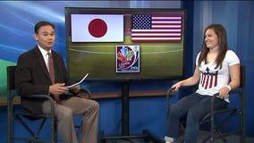 "Seattle Reign FC defender Kendall Fletcher breaks down US World Cup win on ""Q It Up Sports"""