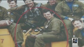Memory of a local MIA Navy pilot brought two strangers together -- with a bracelet