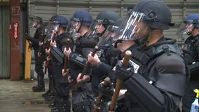 Seattle police training for marches, protests on May Day