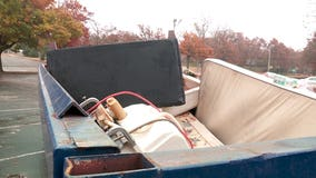 Family returns home to find their furniture, belongings in dumpsters