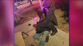 Homeowner chases burglar, sprays him with bear mace