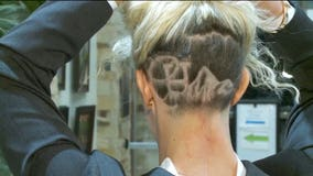 New Utah lawmaker shaves city's logo into her hair