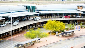 Newborn baby abandoned on changing table at Arizona airport