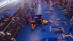 Video shows teen saving track coach having heart attack