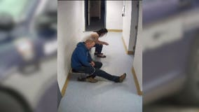 Video captures the moment prisoner slips out of handcuffs, escapes Ohio police department