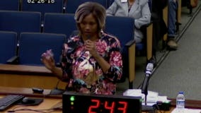 Mom brings miscarried embryo to city council meeting, blames public housing conditions