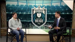 "Reign FC Goalkeeper Michelle Betos in-studio on ""Q It Up Sports"""