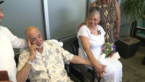 'He was talking love': Couple weds at Virginia hospital as man recovers from heart surgery