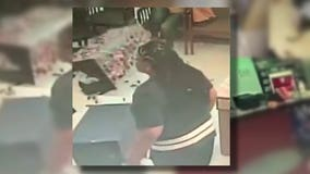 Woman turns herself in after nail salon rampage caught on video