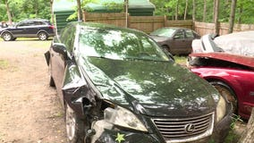 10-year-old driver wrecks Lexus heading to the beach with 7-year-old passenger