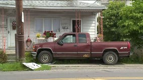 13-year-old fleeing police crashes truck into Pennsylvania home