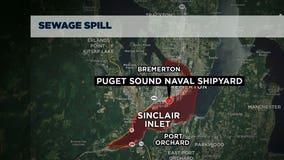 Long-running sewage spill discovered at Naval Base Kitsap