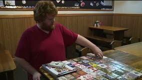 Strangers buy playing cards for evacuee with autism after Camp Fire burns his collection
