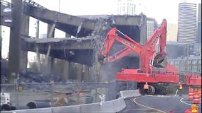 The challenges of safely demolishing the Alaskan Way Viaduct in Seattle