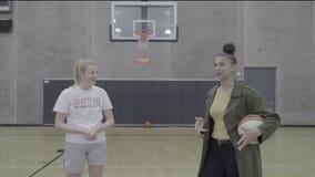Storm's Alysha Clark surprises 8th graders with chance to make mentorship program dream come true
