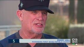 Mariners Infield Coach makes all the difference with young players