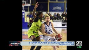 Seattle Storm player recounts COVID-19 journey through France and Australia