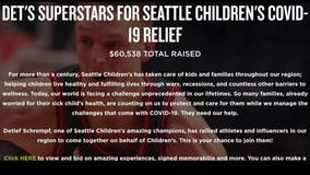 Det's SuperStars lead charge for Seattle Children's Covid relief