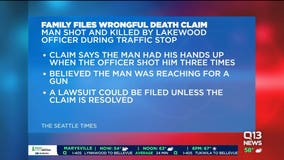 Family of man killed by Washington officer files $25M claim