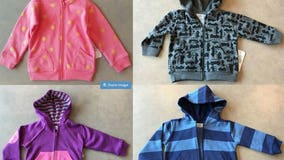 Fred Meyer recalls 48,000 children's sweaters and jackets