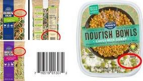 Walmart, Trader Joe's, Safeway among brands listed in massive vegetable recall