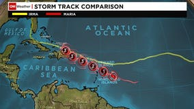 Maria intensifies into Category 5 hurricane, slams into Dominica and heads for Puerto Rico