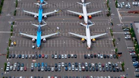 Boeing says airplane orders topped cancellations last month