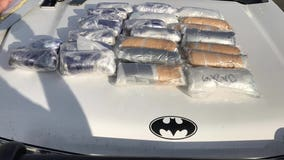 13-year-old driver caught with 25 pounds of meth during traffic stop