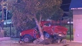 Chicago man killed when truck intentionally rammed off road