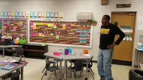 Kindergartners surprise deaf custodian by signing 'Happy Birthday' song to him