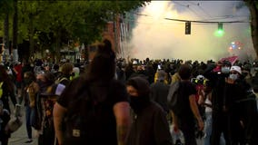 Seattle protest declared a riot hours after curfew begins