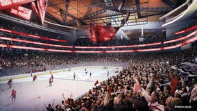 Check out these renderings of the new arena at Seattle Center