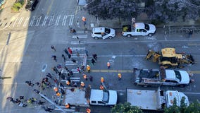 Protesters resist as crews arrive at Seattle's CHOP protest zone