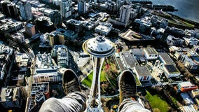 The story behind viral Space Needle pic