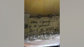 35-year-old time capsule discovered inside the Space Needle