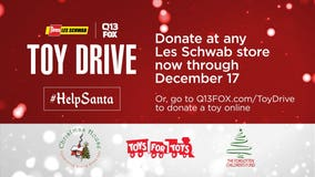 #HelpSanta: Donate to the Les Schwab Q13 FOX Toy Drive