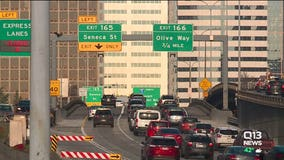 WSDOT: Travel times 'close to normal' on many routes amid viaduct closure