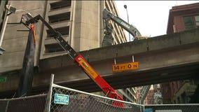 Demolition begins on Seattle's Alaskan Way Viaduct