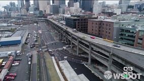 What happens after the Alaskan Way Viaduct closes?