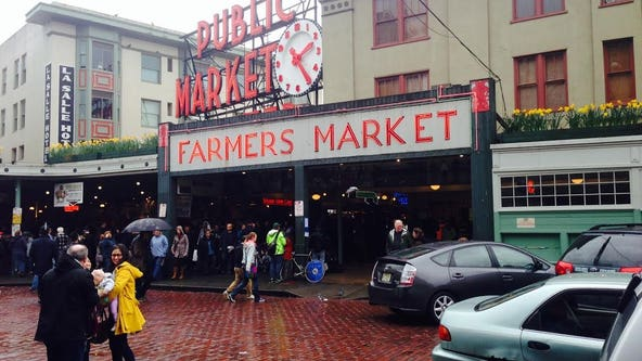 Woman arrested for allegedly pepper-spraying mom, child at Pike Place
