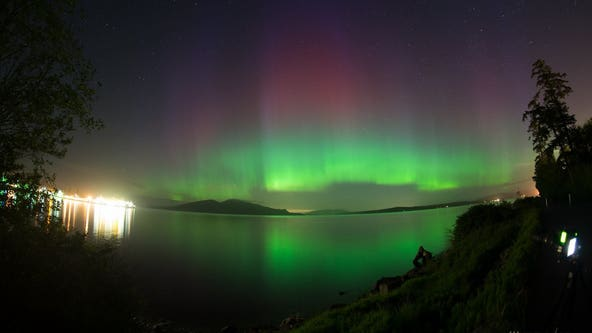 Heads up! Northern Lights may be visible around Seattle Monday night