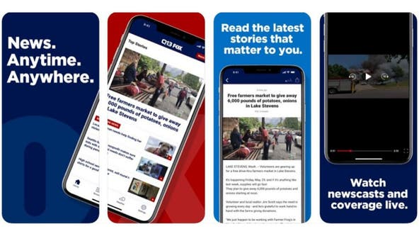 Get the new Q13 FOX News and Weather Apps