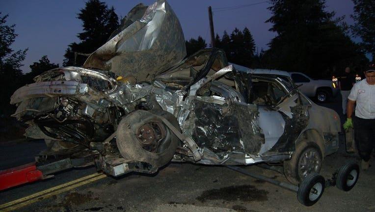 parkland crash