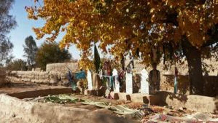 afghan graveyard