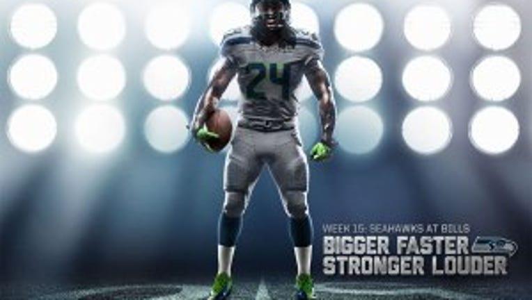 Seahawks to wear new 'Wolf Grey' uniforms in Toronto