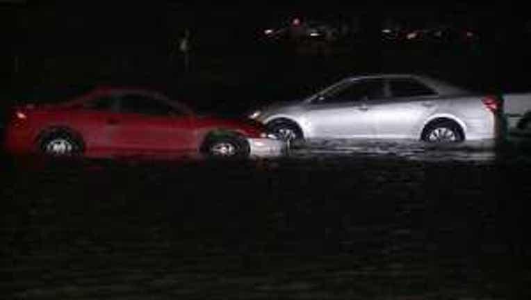 Cars Flood